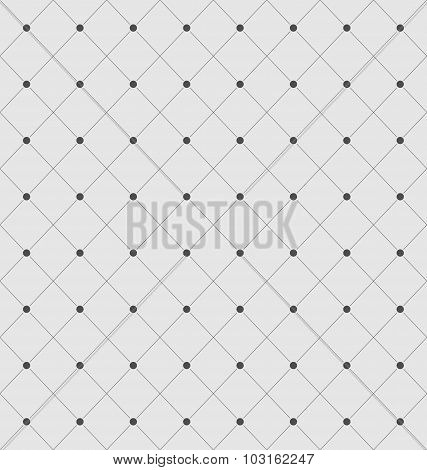 Seamless Geometric Texture with Rhombus and Dots