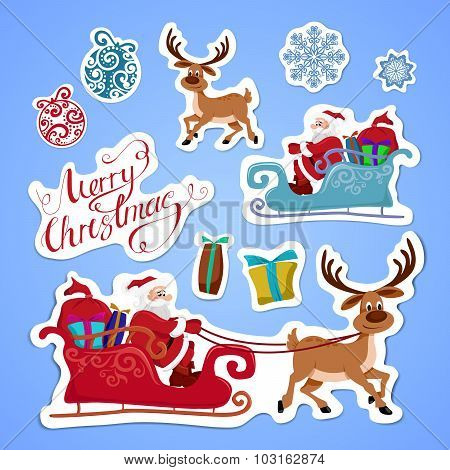Stickers for Christmas