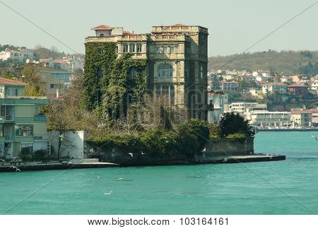 The ancient house at water