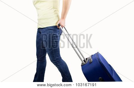 Woman Ready To Boarding
