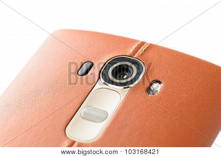 Closeup Of Smartphone Camera Module