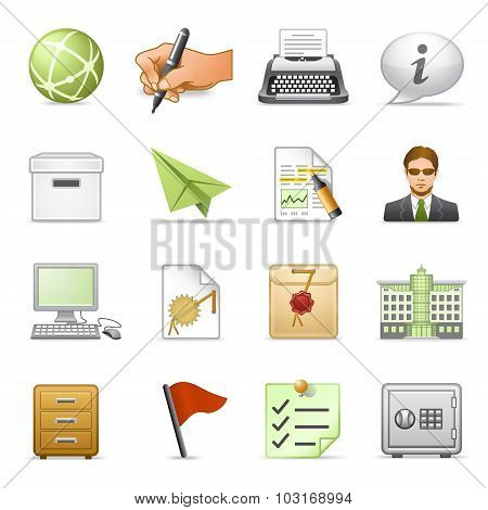 Business Icons, Set 4.