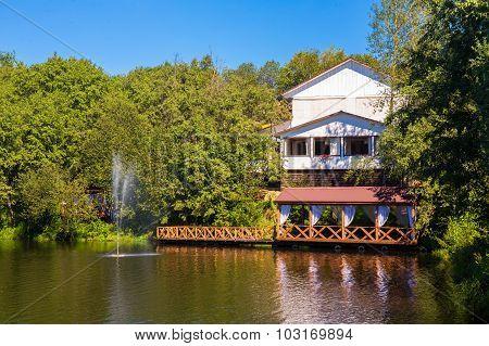 Open air verandah