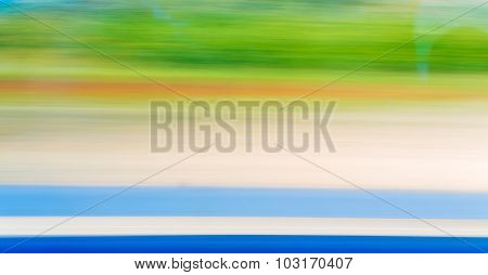 Colorful blured motion background blue green yellow bright