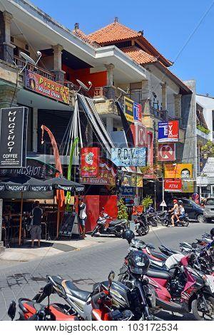 Shops & Restaurants At Seminyak, Bali
