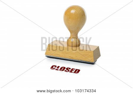 Closed Rubber Stamp