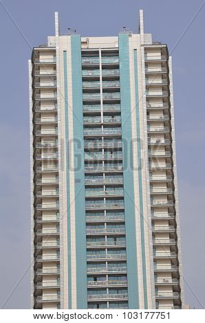 Skyscrapers of Sheikh Zayed Road in Dubai, UAE