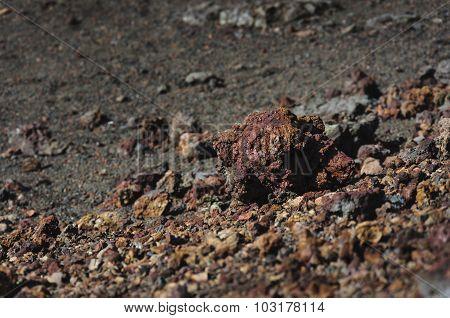 Rocks Of Volcano, Piton De La Fournaise, Ile De La Réunion