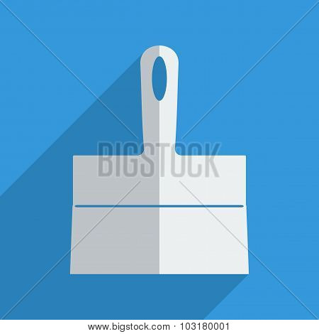 Flat icons modern design with shadow of trowel