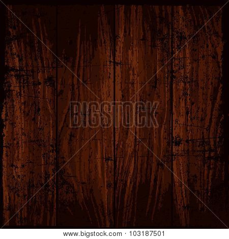 Template Grunge Wood Texture background. Vector  illustration