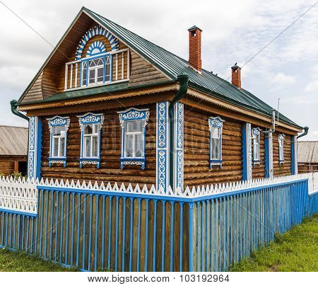 Beautiful Rural Wooden House