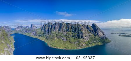 Reinefjorden On Lofoten