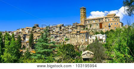 Sutri - ancient etruscan town in Lazio, Italy (Viterbo province)