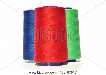 Red Blue And Green Thread