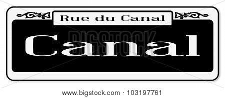 Rue Du  Canal