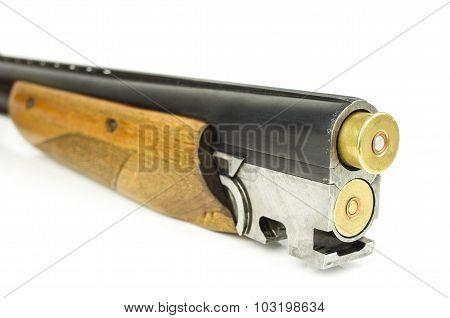 Barrel Shotgun And Cartridges