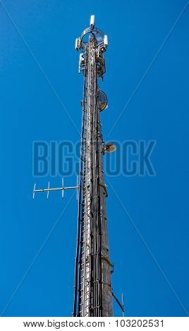 High-tech Electronic Communications Tower