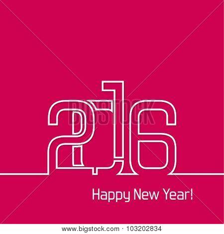 new year 2016 design