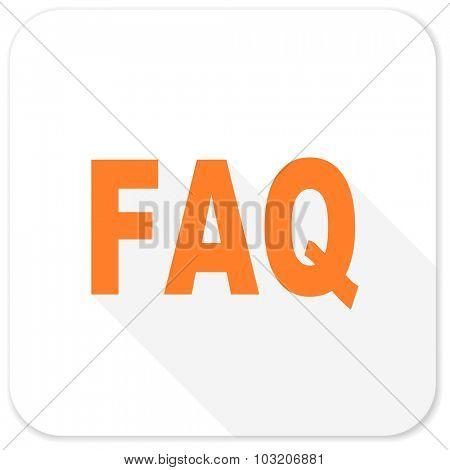 faq flat icon