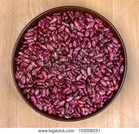 Beans In A Bowl Of Clay