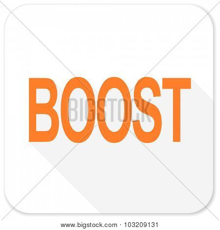 boost flat icon