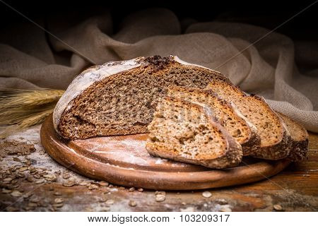 Sliced Artisan Bread