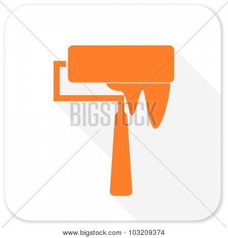 brush flat icon