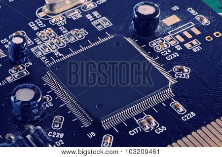 Cpu Electronic Circuit