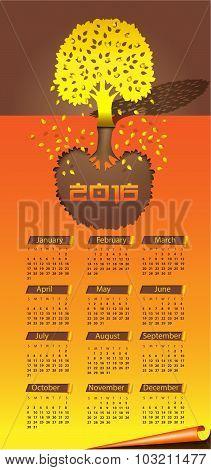 Autumn Time Calendar