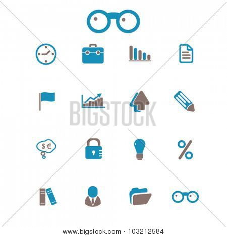 business bank icons