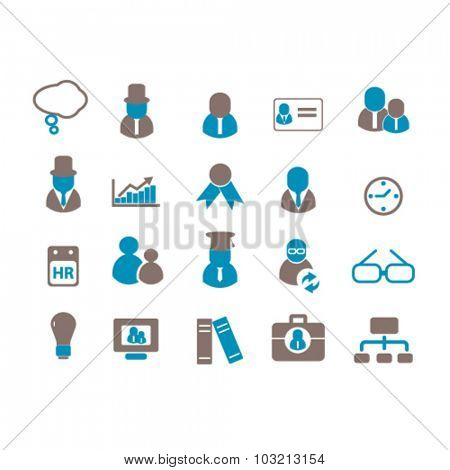 human resources, users icons