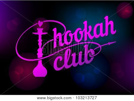 Logo for hookah bar
