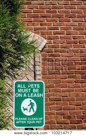 Dog Must Be On Leash