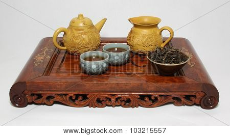 Chinese Tea Ceremony Table