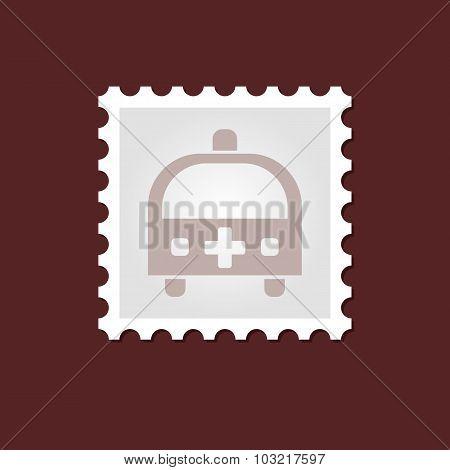 Ambulance medical stamp