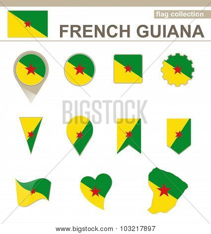 French Guiana Flag Collection