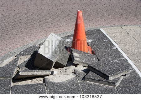 Pavement Subsidence