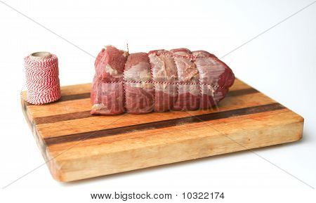 Roastbeef On Cutting Board