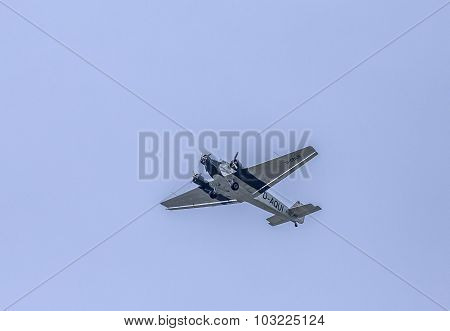 Junkers Ju52 D-aqui  Flights Over The Taunus Region