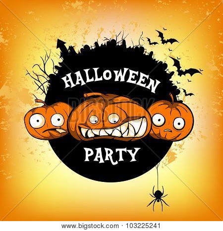 poster halloven party