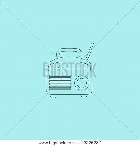 Radio symbol, Vector