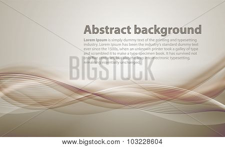 Light brown background with gradient and blend. Business style o