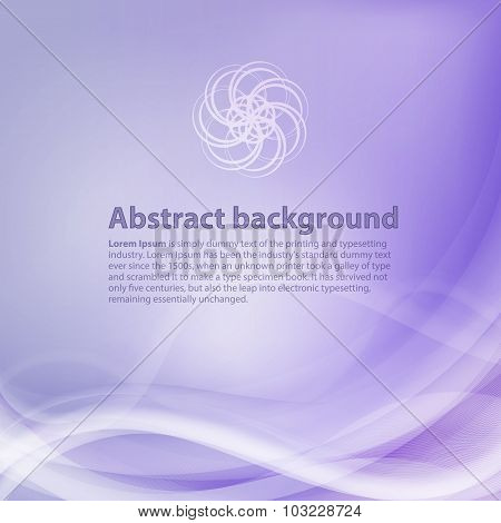 Light purple background with gradient and blend. Business style