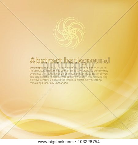 Yellow and orange background with gradient and blend. Business s