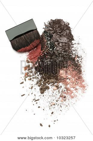 Crushed Eyeshadow Mix And Brush