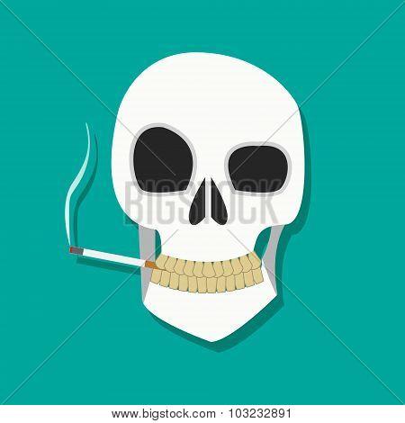 Smoker Skull Icon