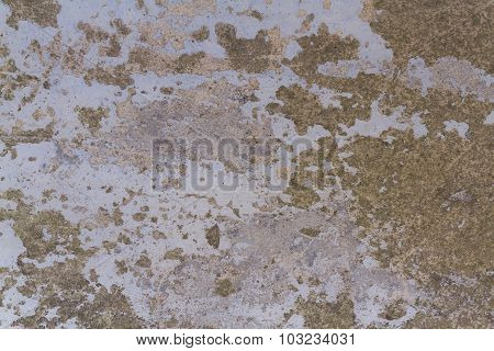 Old Painted Concrete . Texture, Background.