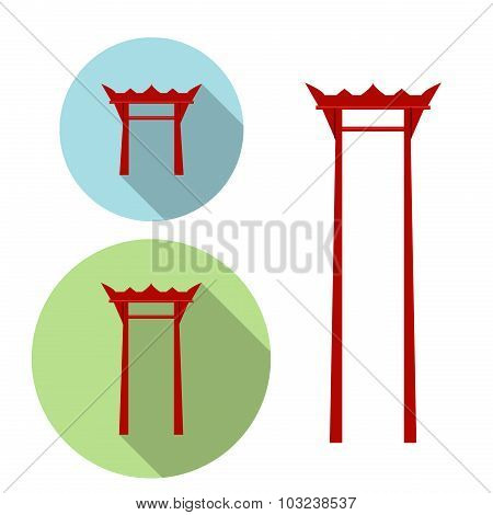 Giant Swing, Torii Gate Icon