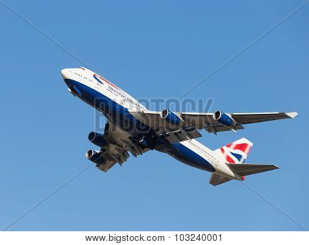 Boeing 747-436 British Airways