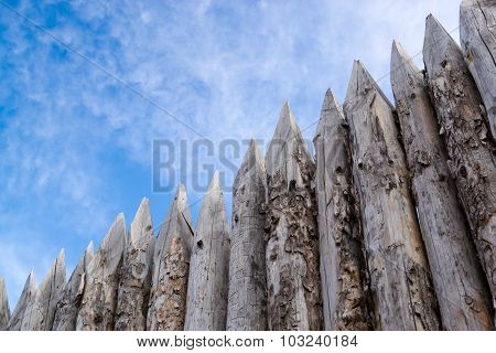 Wooden Palisades